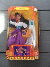 "Disney Hunchback of Notre Dame ESMERALDA 11.5"" Fully Poseable Fashion Doll (1995"