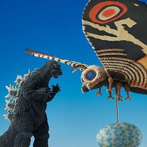 Neu Toho Spezialeffekte Museum Mothra & Godzilla 1964 Limitiert Set von Japan