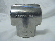 "VTG 1 Speed Rail Cinti 2-Way Tee 2/"" O.D w//1 5//8/"" I.D Rail System Component"