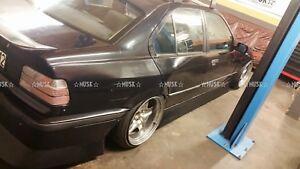 Bmw E36 Sedan Saloon Just Rear Overfenders By Musk Customs Ebay