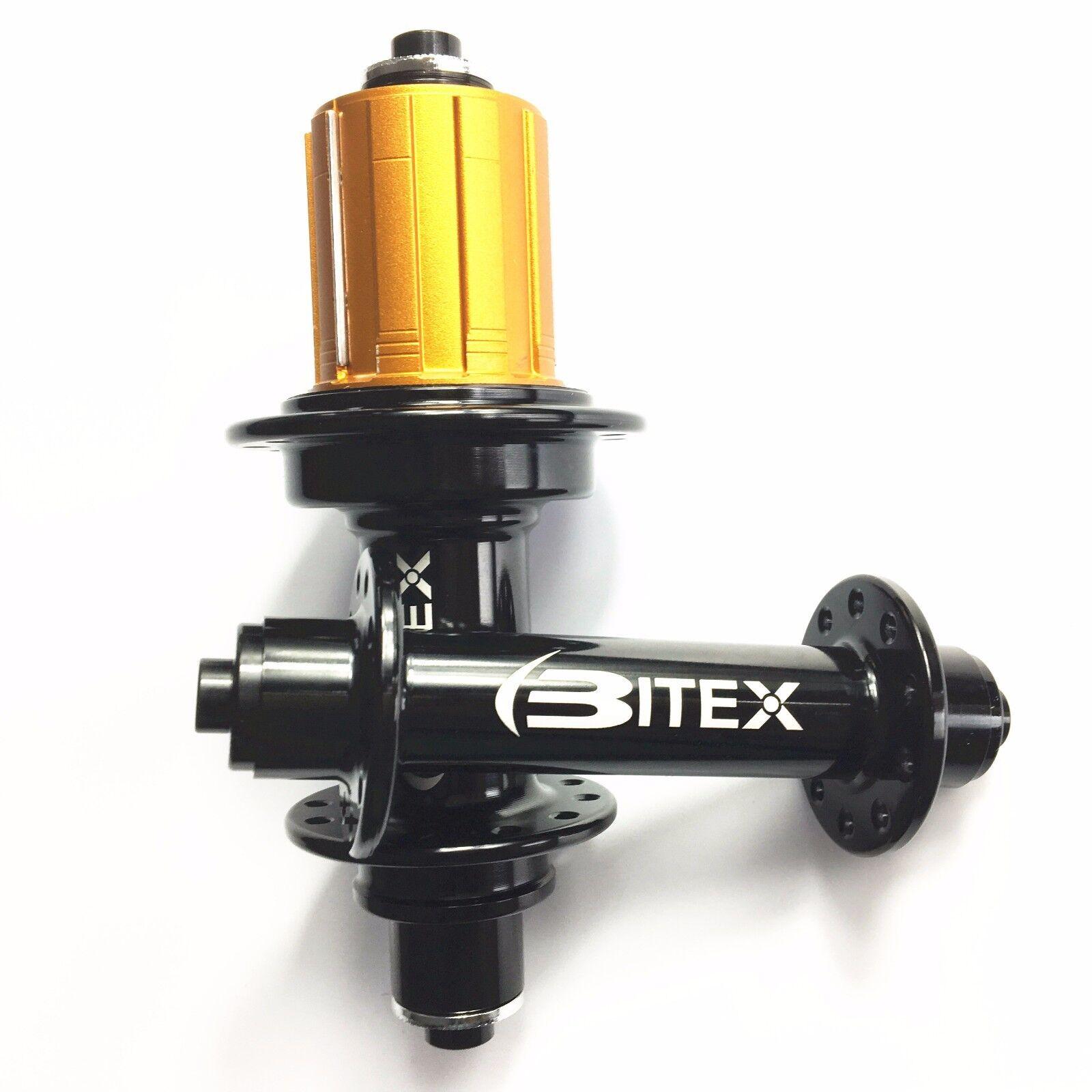 Ultraleicht Gewicht Bitex Hub 260g Rennrad Vorne 20 Hinten 24 Löcher RAF10 RAR9