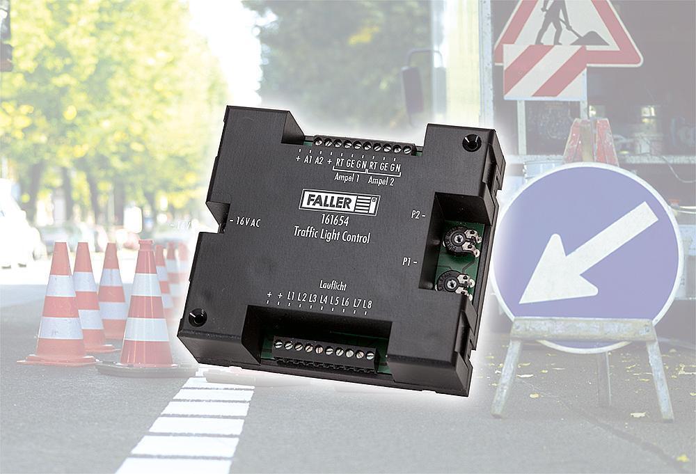 Faller 161654 Sistema di Auto Traffic-Light-Control   Nuovo in Confezione