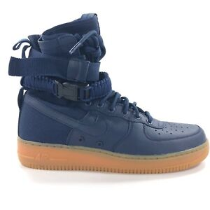 new arrival 089c7 20fdf Image is loading Nike-SF-AF1-Special-Field-Air-Force-Midnight-