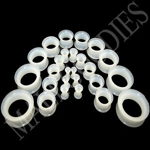 V053-Double-Flare-Clear-Silicone-Squishy-Soft-Saddle-Ear-Plugs-All-Sizes