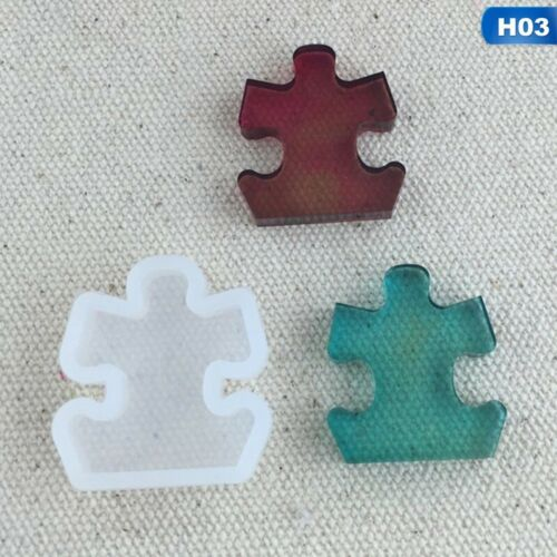 200xSilicone Resin Mold for DIY Jewelry Pendant Making Tool Mould Handmade  ty*
