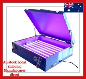 Details about UV Exposure Unit Screen Printing Machine with Cover & 8 Tubes  Equipment