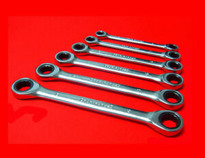 6-tlg-Ratschenschluessel-Ringschluessel-Ratschen-Schraubenschluessel-6-mm-19-mm