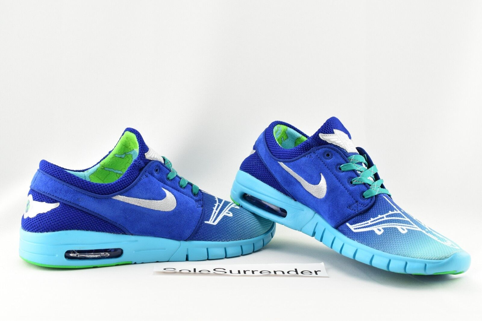 Nike Stefan Janoski Max Doernbecher - CHOOSE SIZE - 898640-404 L DB Corwin Royal