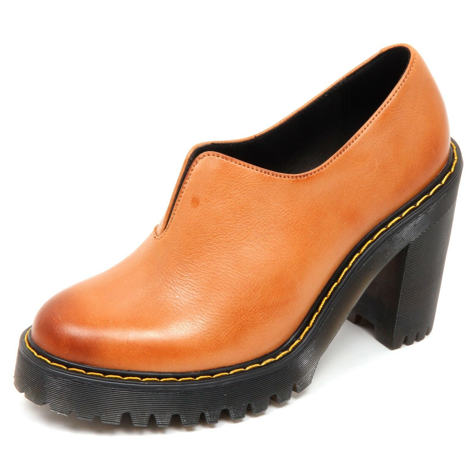D4588 (without brown box) scarpa donna vintage brown (without DR. MARTENS MATILDA shoe woman 2a62ca