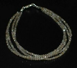 Natural-Labradorite-Gemstone-Faceted-4-Layer-5-10-034-Jewelry-Bracelet-2-mm-Beads