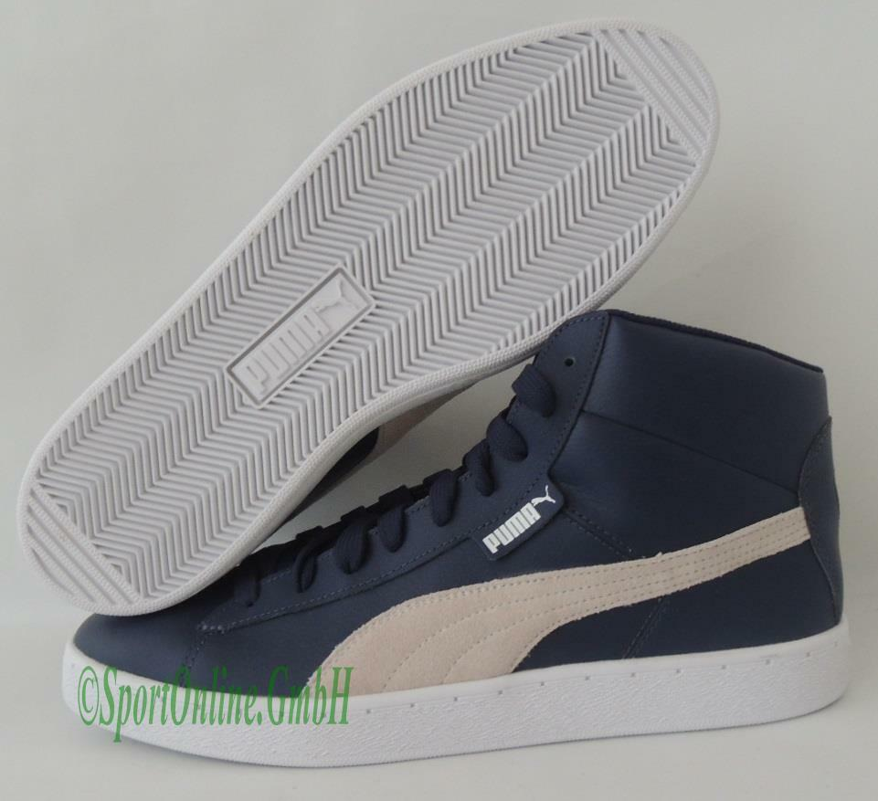 NEU Puma 48 Mid L Men Gr. 44,5 Leder Schuhe Boots Sneaker 356733-01 TOP