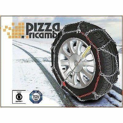 """CATENE DA NEVE CORA MAXIGRIP 15mm RUOTA 17/"""" 245//65-17 snow chain cadena FRP"""