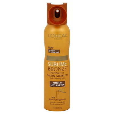 L'Oreal Sublime Bronze Salon Perfect Airbrush Mist 4.6 Oz (Pack Of Two Bottles)
