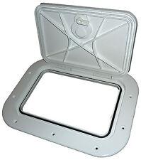 INSPECTION/ACCESS PLASTIC HATCH 260x160mm  DIY MARINE BOAT SAIL LOCKER DOOR