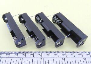 Sostenedor-de-Bateria-para-1-x-AA-034-034-UM-3-Celular-con-Pines-Para-Montaje-PCB-Paquete-de-4