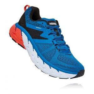 HOKA-ONE-ONE-GAVIOTA-2-Men-039-s-Scarpe-Uomo-Running-IMPERIAL-BLUE-1099629-IBAN
