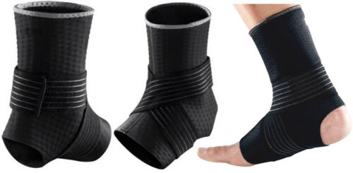 Ankle Support Compression Wrap Elastic Injury straps Braces Sleeves Yoga Viper
