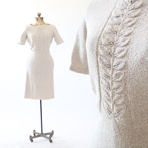 Vintage 30s crochet kit midi dress