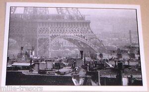 Carte-Postale-Photo-Frank-HORVAT-PARIS-TOUR-EIFFEL-1956-Edition-1995