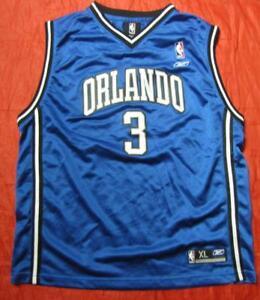 new arrival 02583 6ff50 Details about Steve Francis #3 ORLANDO MAGIC jersey shirt REEBOK NBA SIZE  XL.Boys (M adults)