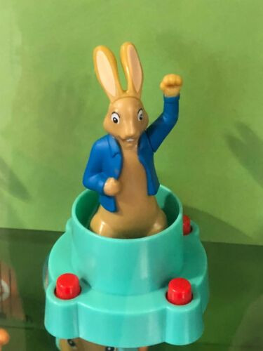 Peter Rabbit 2018 UK Mcdonalds Toy Figure /& Games New Happy Meal Beatrix Potter
