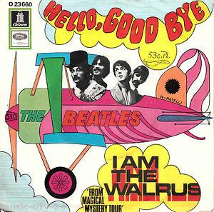 The-BEATLES-Hello-Good-Bye-I-Am-The-Walrus-7-034-Vinyl-Single