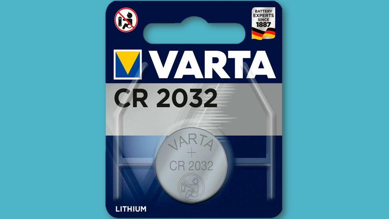 60 x Varta CR2032 230 mAh 3V P-Electronics Lithium Knopfzelle Blister Batterien | Neues Design