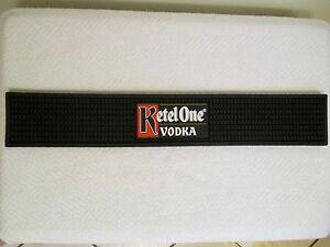 Ketel One Vodka Bar Rail Mat Black Rubber Counter Top ...