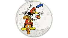 2 $ Dollar Disney Mickey Mouse Niue Band Concert Island 1 oz Silber PP 2016