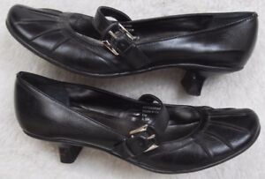 Style-amp-Co-Shoes-Black-Womens-Man-Made-Dress-Heels-Size-6-5-Six-1-2-Solid-Woman