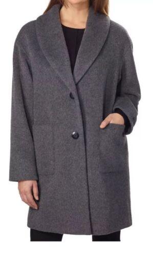 di donna Lam cappotto Derek Crosby lana grigio 10 Nuovo xs fwq5Xxx