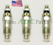 3PCS Fuel Injector for Kubota B7100HSTD B7100HSTE F2100 L175 L225 L225DT Tractor