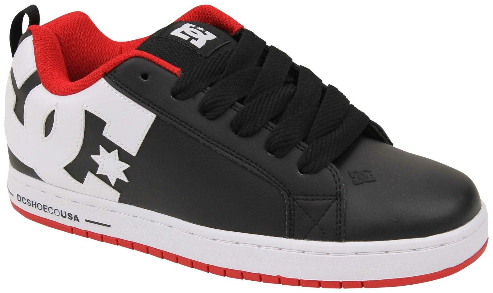 DC Court Graffik scarpe - rosso rosso rosso   nero   bianca - New 33e9ef