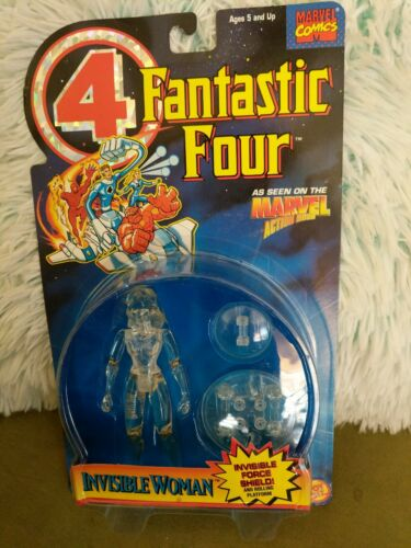 INVISIBLE WOMAN 1994 NEW TOY BIZ FANTASTIC FOUR