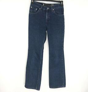 Vintage Levi S Silvertab Hipster Boot Cut Dark Wash Pantalones Vaqueros Para Mujer De 5 Mediano Ebay