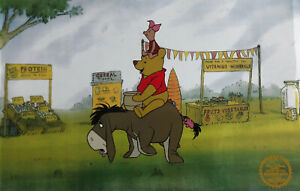 "Disney ""Winnie The Pooh Blustery Day"" LIMITED EDITION Serigraph Cel"