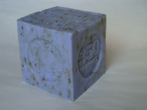 French-Marius-Fabre-Marseille-Soap-350g-Cube-Shape-Soap-Lavender-Flower