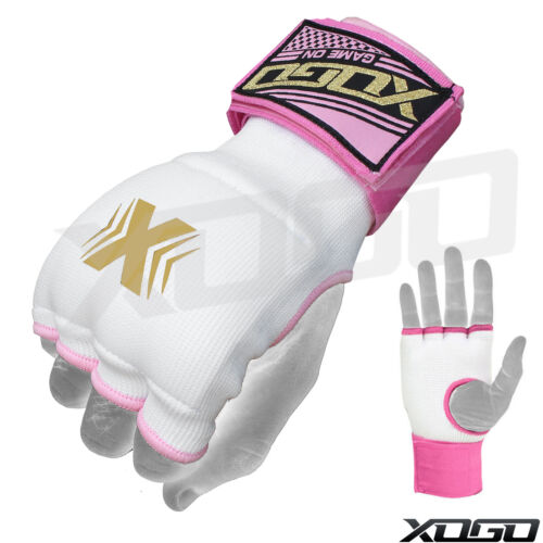 PRO Boxing Gel Gloves Hand wraps Punch Bag Inner Glove MMA Martial Arts UFC Gear