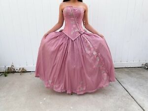 QUINCEANERA BALL GOWNS CORSET SWEET 16 PAGEANT WEDDING DRESS QUINCE