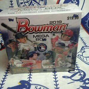 2019-Bowman-Mega-Baseball-Box-With-2-Exclusive-5-Ccard-Chrome-Packs-Last-One