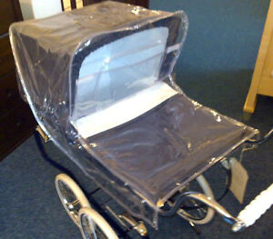 Dolls-Pram-Rain-Cover-for-Silver-Cross-Toy-Oberon-Chatsworth-Cottingley-Princess