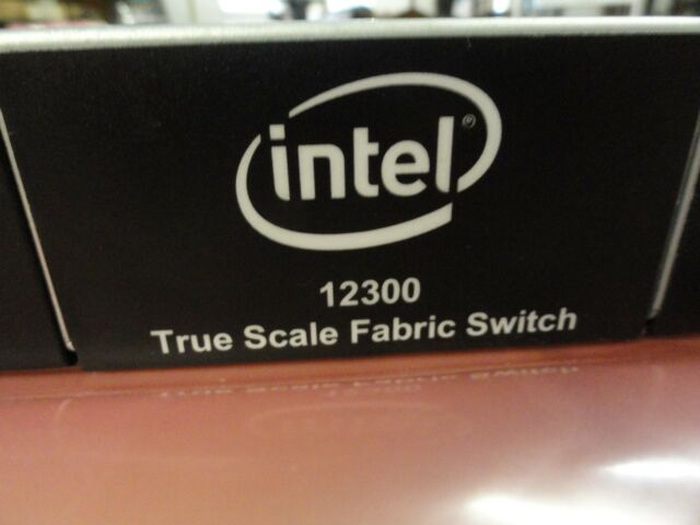 Intel True Scale Fabric Edge Unmanaged Switch 12200 Update