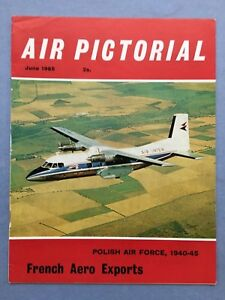 AIR-PICTORIAL-June-1965-Polish-Air-Force-1940-45-French-Aero-Exports