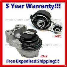 M200 Fit 08-14 Ford Edge Taurus/ Lincoln MKS/ Mer Sable 3.5/3.7L Motor Mount Set