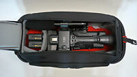 Pro Mf3 Camcorder Bag For Panasonic Px270 Hpx255 P2 Af100a Ac90 Ag 3da1 Case