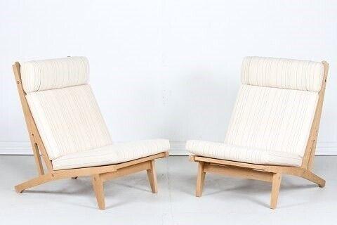 Hans J. Wegner Lounge Chairs GE – dba.dk – Køb og Salg af