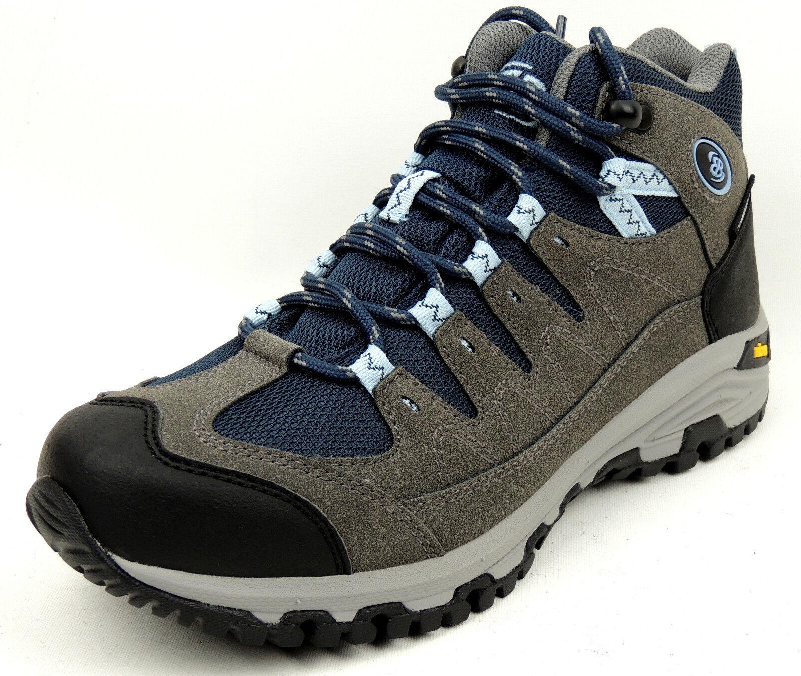 Zapatos promocionales para hombres y mujeres BRÜTTING  Damen TREKKING WANDER SCHUHE  grau  COMFORTEX-Membran  VIBRAM