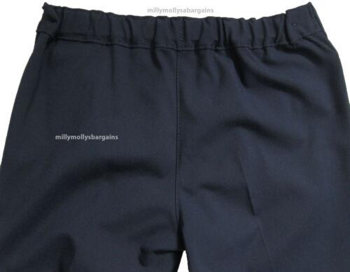 Neuf Filles Marks /& Spencer BOOTLEG BLUE School Pantalon Âge 9 ans X 2