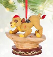 New Disney Store Sketchbook Lion Guard Kion Christmas Ornament