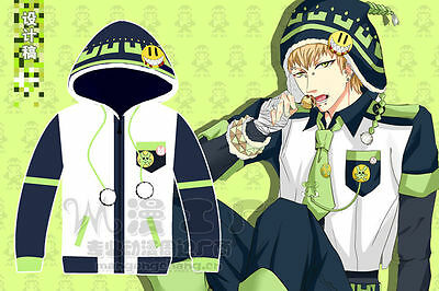 Lovely Dramatical Murder DMMd Noiz knitted Sweater Top Hoodies Cosplay Jacket